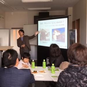 17年2月にお隣の保険代理店グローバルアイデアルさん主催のセミナーに講師として登場しました。
