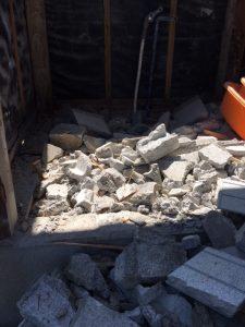 リノベーションでスケルトン解体した後に残る瓦礫にも物語があります。