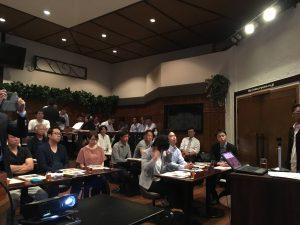 岡崎市では初開催のリノベーション住宅推進協議会のセミナー会場風景です。
