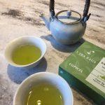 お施主様から頂いたお茶をリノクラフトのキッチンで入れてみました