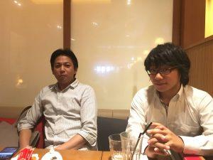 アネストワン青山社長とアルファ住宅販売の原田さん