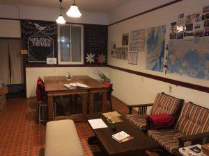 岐阜県高山市にある築80年の民家をリノベーションしたレトロなゲストハウス。