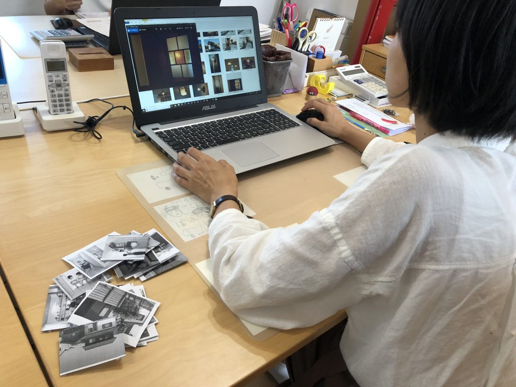 どれも気に入った写真ですが、厳選したリノベーション事例を掲載するべく選定作業です。