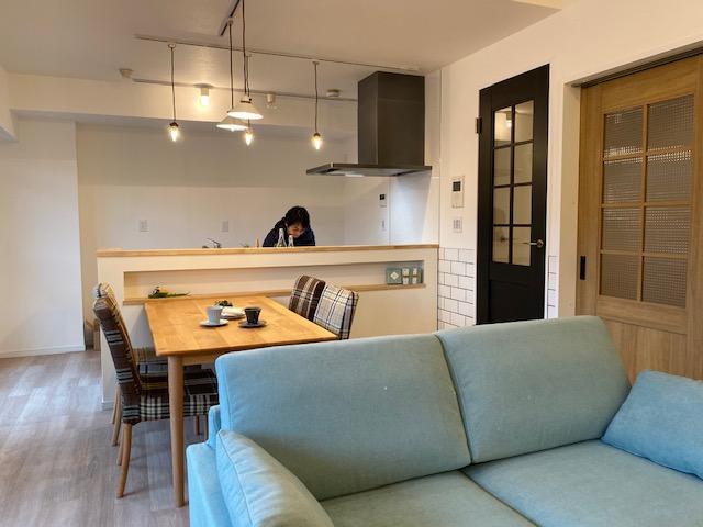 家具まで丸ごと提案のマンションリノベーションが完成しました