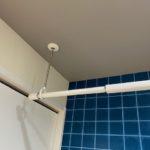 脱衣室兼洗濯室はクロスのおしゃれにして気分が上がる空間に