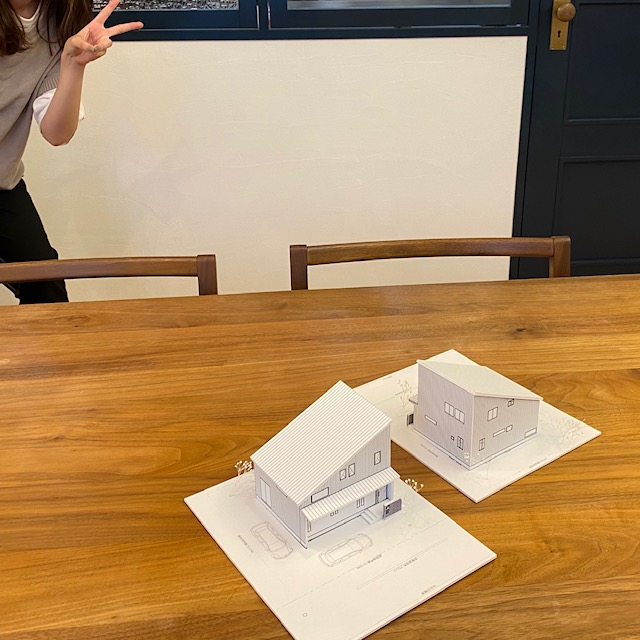 リノベーションのリノクラフトは新築注文住宅も建てます!こだわり満載のお家、最後は模型のプレゼント!
