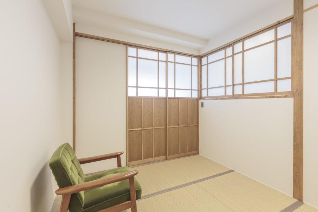 マンションリノベで瞑想できる方丈の和室が完成