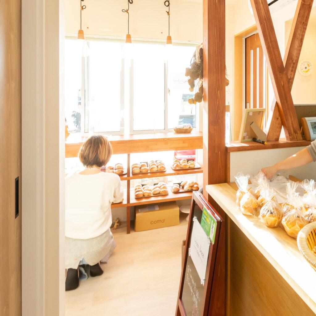 自宅の一角がリノベでパン工房とちいさなパン屋になり、夢が叶いました