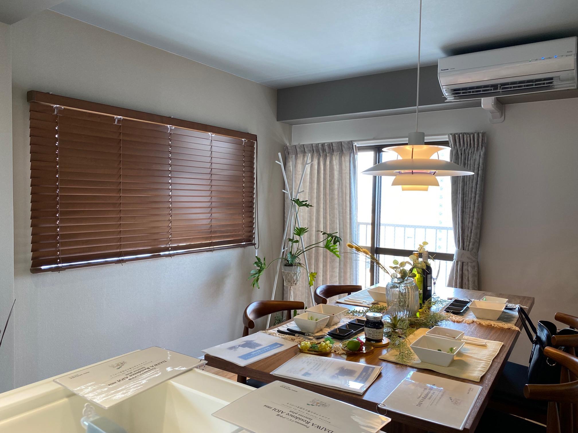 家具を選んでからコーディネートを始めたというマンションリノベーションのお部屋です