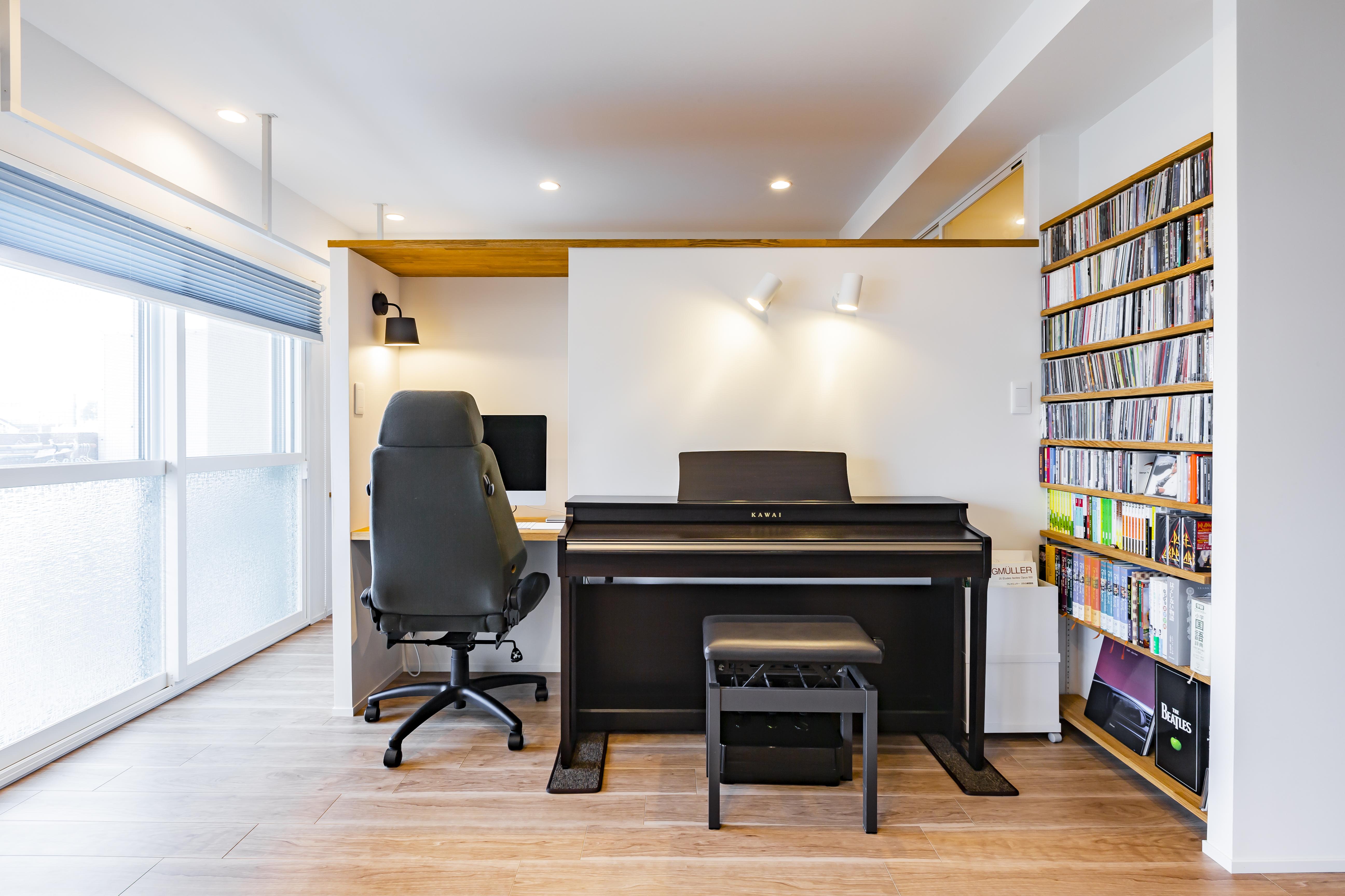 マンションリノベでリビングには書斎とクローゼットを作りました