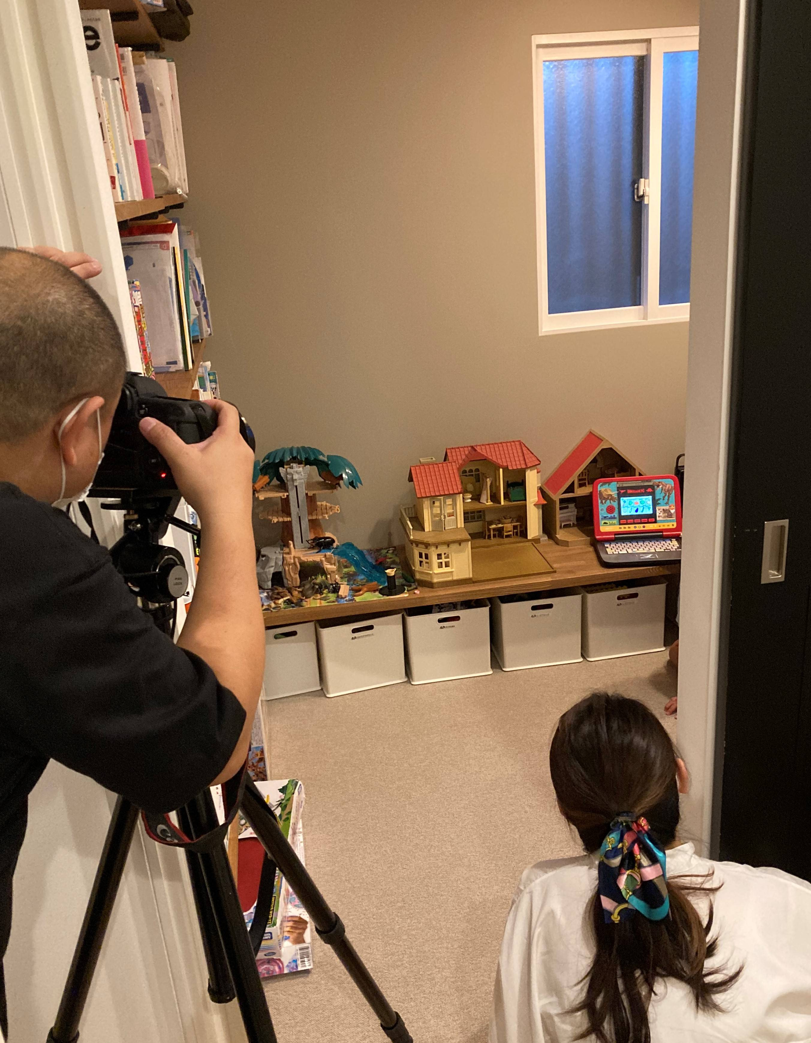 豊橋市でリノベーションを手掛けるリノクラフト株式会社で実家リノベーションされたOB様のお宅が東海リノベーションの撮影風景